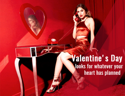 Valentine's Day looks for whatever your're heart has planned