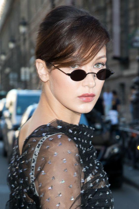 The return of the super-small sunglasses