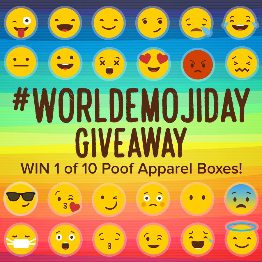 #WorldEmojiDay Giveaway