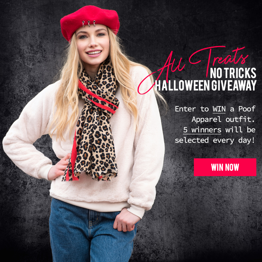 All Treats No Trick Halloween Giveaway