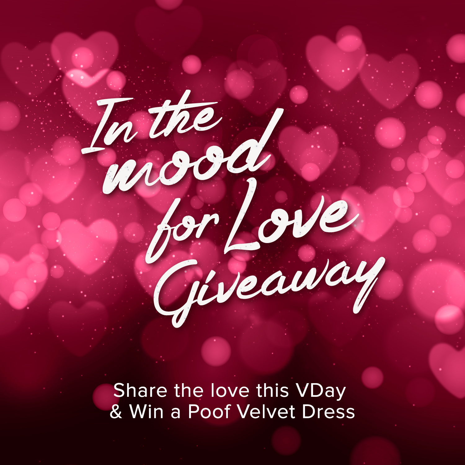 In the Mood for Love Giveaway