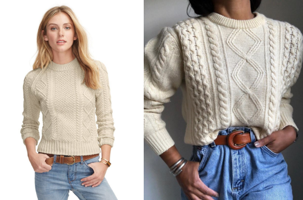 The Fisherman Sweater Makes a Comeback
