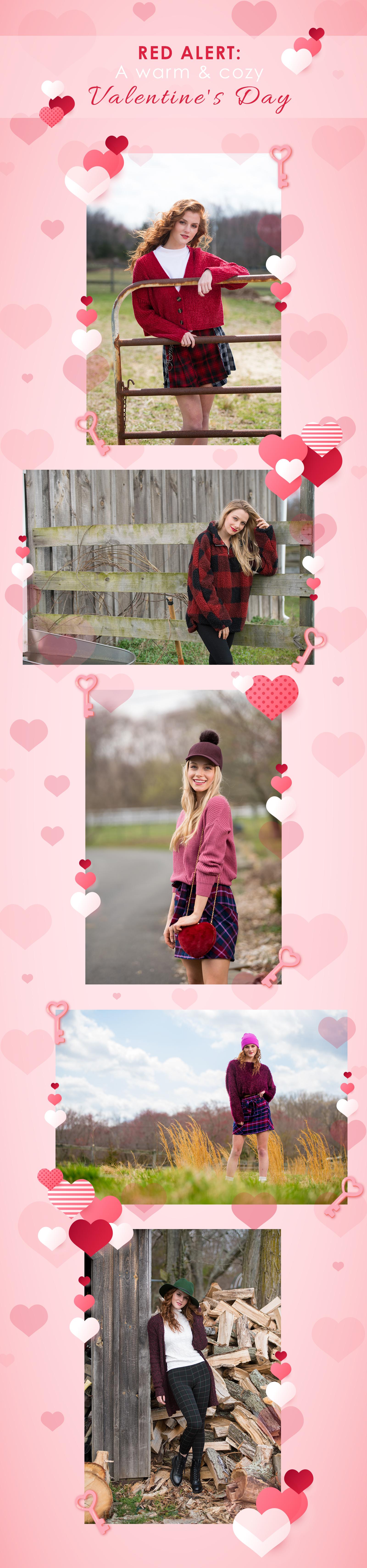 Red Alert: A warm & cozy Valentine's Day