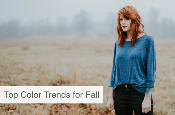 Top Color Trends for The Fall