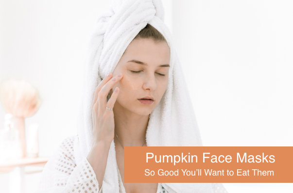 Pumpkin Face Masks: So Good You'll Want to Eat Them