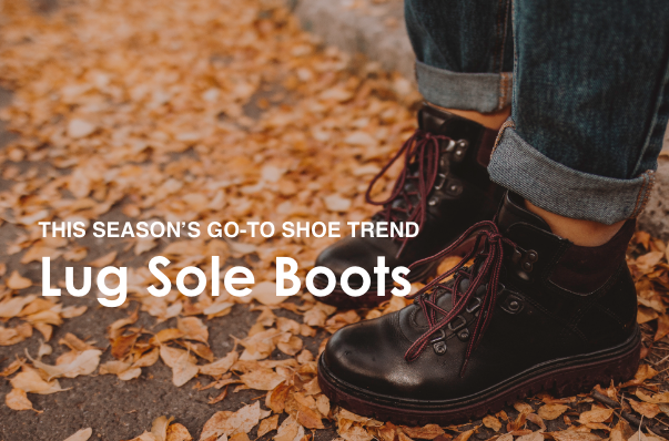 This Season's Go-To Shoe Trend: Lug Sole Boots