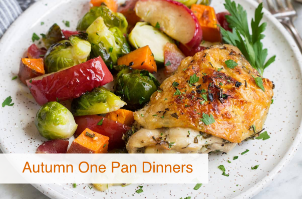 Autumn One Pan Dinners