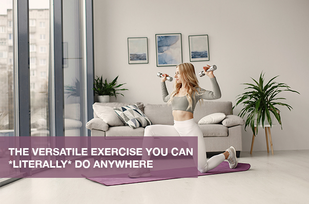 The Versatile Exercise You Can *Literally* Do Anywhere