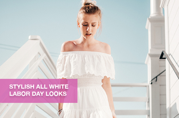 Stylish All White Labor Day Looks