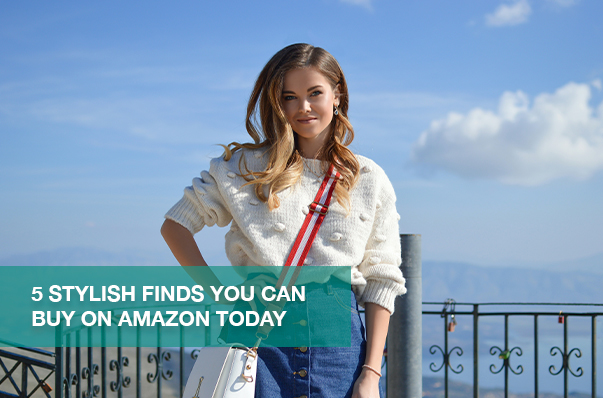 5 Stylish Finds You Can Buy on Amazon Today